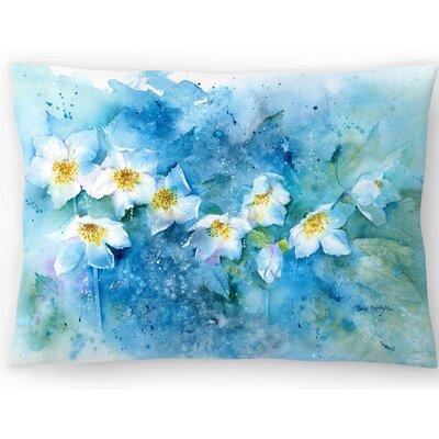 Hellebores Lumbar Pillow Size: 14 x 20