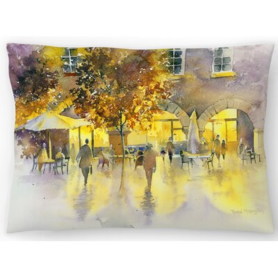 Evening Stroll Lumbar Pillow Size: 14 x 20