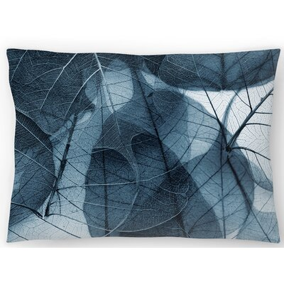 Delicate Lumbar Pillow Size: 10 x 14, Color : Blue