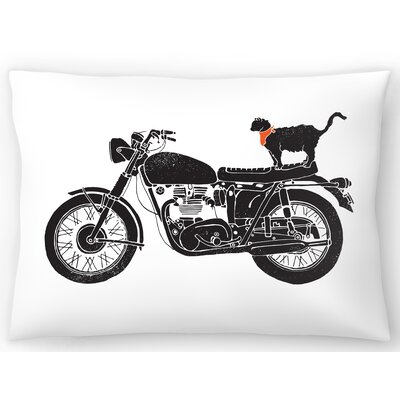 Purrfect Road Trip Lumbar Pillow Size: 10 x 14