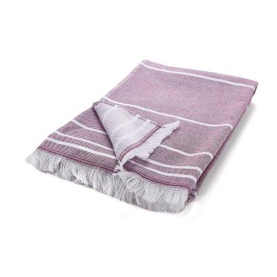 Wesner Terry Cotton Bath Towel Color: Purple