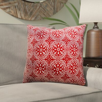 Mcelhannon Non Bordered Throw Pillow Color: Cherry