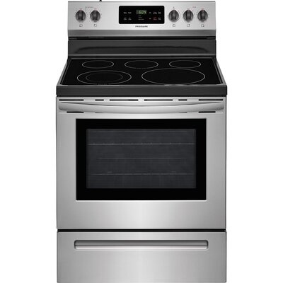 """30"""" Free-standing Electric Range Finish: Stainless Steel FFEF3054TS"""