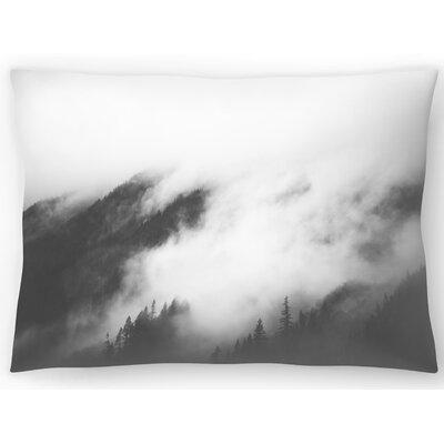 Rolling Fog I Lumbar Pillow Size: 14 x 20
