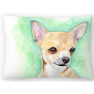 Chihuahua Lumbar Pillow Size: 10