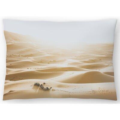Sahara Desert Lumbar Pillow Size: 14