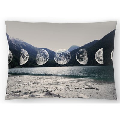 Moonlight Mountains Lumbar Pillow Size: 14 x 20