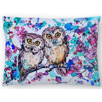 Little Owls 2 Lumbar Pillow Size: 14 x 20