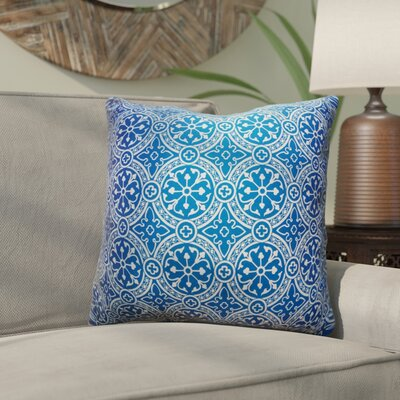 Mcelhannon Non Bordered Throw Pillow Color: Blue