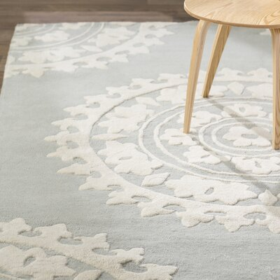 Hawley H-Woven Gray Area Rug Rug Size: Rectangle 6' x 9'