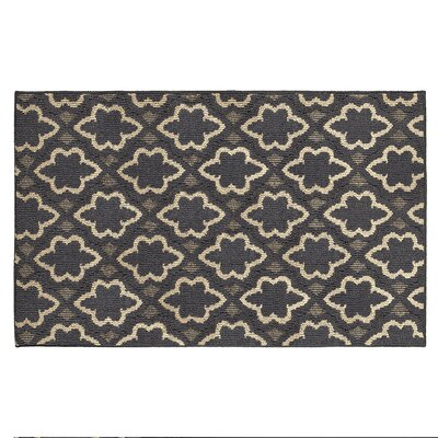 Ardal Dark Gray/Beige Area Rug Rug Size: Rectangle 3 x 5