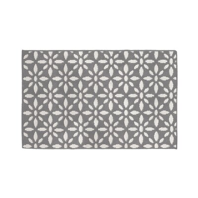 Gent Light Gray Area Rug Rug Size: Rectangle 26 x 42