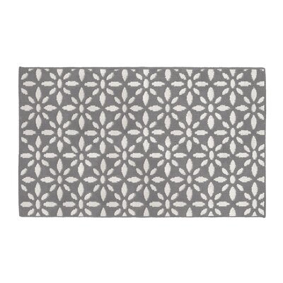 Gent Light Gray Area Rug Rug Size: Rectangle 28 x 48