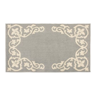 Rainer Light Gray/Ivory Area Rug Rug Size: Rectangle 3 x 5