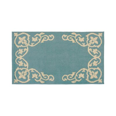 Rainer Blue/Beige Area Rug Rug Size: Rectangle 26 x 42