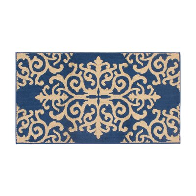 Are Blue/Beige Area Rug Rug Size: Rectangle 28 x 48