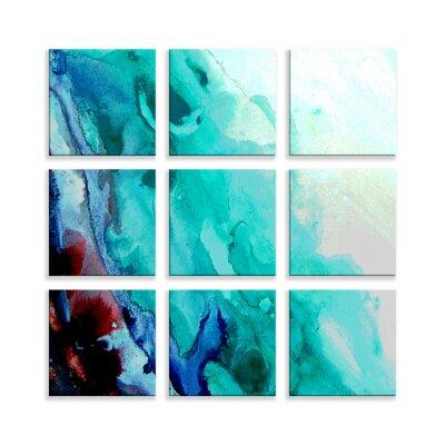 'Coral Reef' Graphic Art Print Multi-Piece Image on Wrapped Canvas 5AC5C9C94188438E8B7A92395DE1CD22