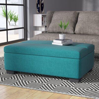 Saito Sleeper Ottoman Upholstery Color: Dark Teal