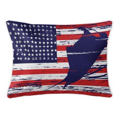 Wegman Americana Lumbar Pillow