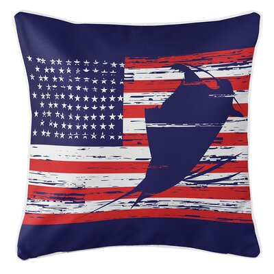 Wegman Americana Throw Pillow