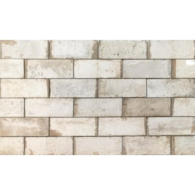 Havana 2 x 11 Porcelain Field Tile in Sugar Cane
