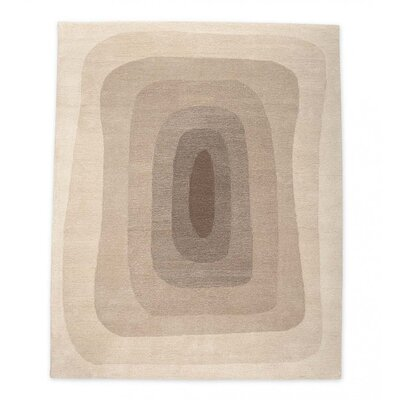Easter Compton Hand-Tufted Wool Gray Area Rug Rug Size: Rectangle 5 x 8