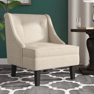 Lindsay Side Chair Upholstery: Cream