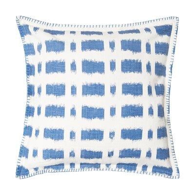 Dash Cotton Throw Pillow Color: Santorini