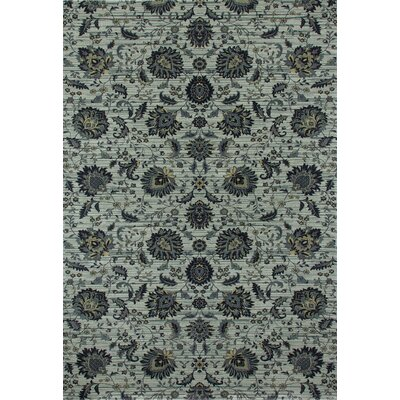 Rangel Light Gray Area Rug Rug Size: Rectangle 57 x 86