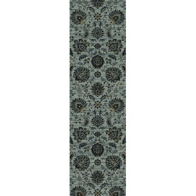Rangel Light Gray Area Rug Rug Size: Runner 22 x 77