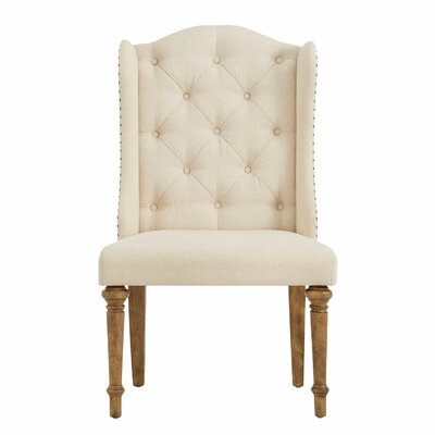 Findley Button Tufted Upholstered Dining Chair
