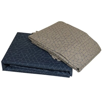 Goosby 100% Cotton Sheet Set Size: Queen