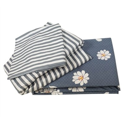 Fooks 100% Cotton Sheet Set Size: Queen