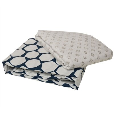 Gordan 100% Cotton Sheet Set Size: Queen