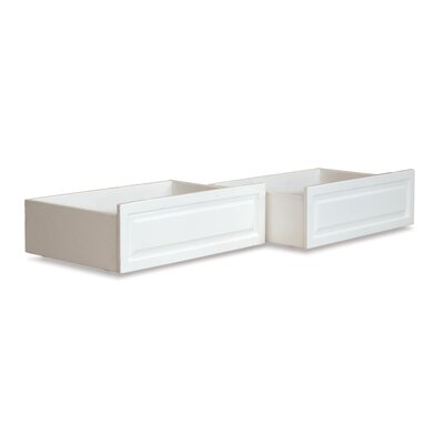 Kimbro Raised Underbed Storage Drawer Color: White