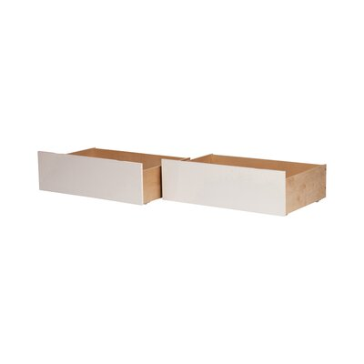 Rasnick Underbed Storage Drawer Size: Twin/Full, Color: White