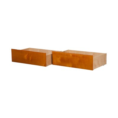 Rasnick Underbed Storage Drawer Size: Queen/King, Color: Caramel