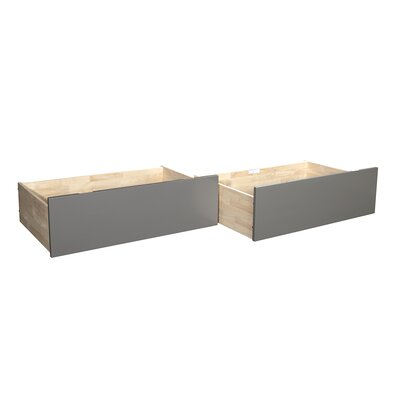 Rasnick Underbed Storage Drawer Size: Twin/Full, Color: Gray