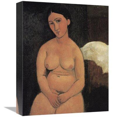 'A Seated Nude' Print on Canvas GCS-373597-16-142 / GCS-373597-22-142