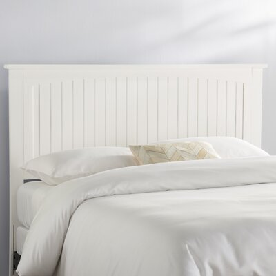 Graham Panel Headboard Size: Queen, Color: White
