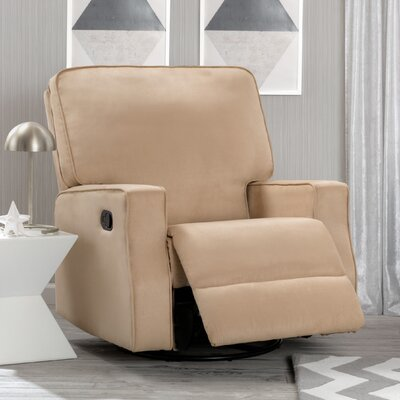 Dutra Manual Glider Recliner Upholstery: Beige