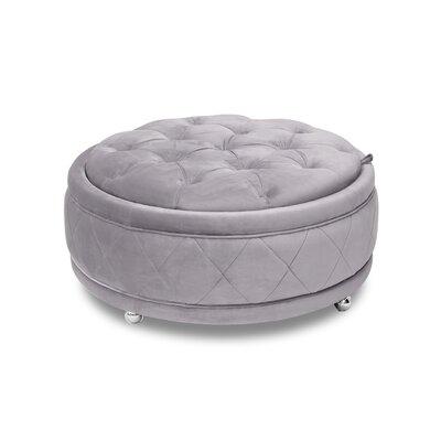 Eidson Storage Ottoman Upholstery: Gray