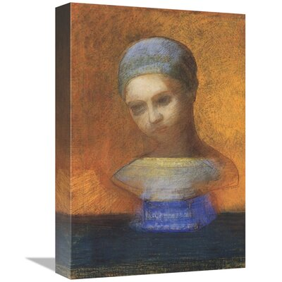 'Small Bust of a Young Girl' Print on Canvas ESUH8465