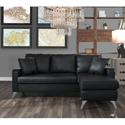 Mehrotra Configurable Sectional Upholstery: Black