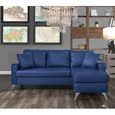 Mehrotra Configurable Sectional Upholstery: Blue