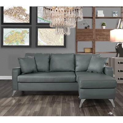 Mehrotra Configurable Sectional Upholstery: Light Gray