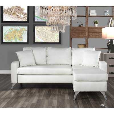 Mehrotra Configurable Sectional Upholstery: White