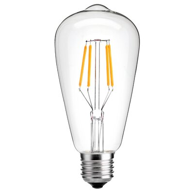 4W E26 LED Edison Light Bulb