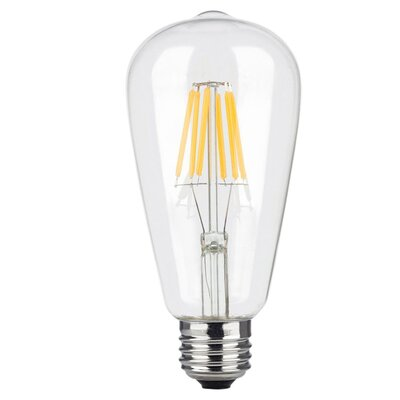 E26 LED Edison Light Bulb Wattage: 8W