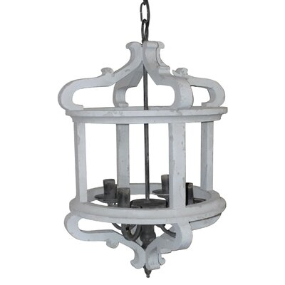 Weeden 4-Light Compatible Lantern Pendant